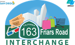 State Route 163 - Friars Road Interchange Project Logo