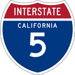 California Interstate 5 icon