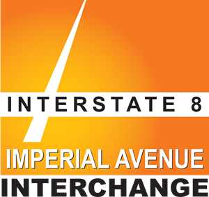 Interstate 8 / Imperial Avenue Interchange logo