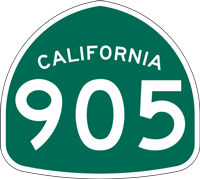 California State Route 905 icon