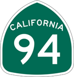California State Route 94 icon