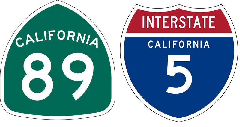 Highway 89 & I-5 Project