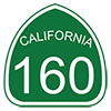 State Route 160 Sign