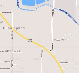 116 in Sebastopol Sonoma County Traffic Shift Overnight June 28 2019 Caltrans Traffic Map on