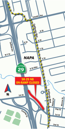 2019-06-18 29 NB Ramp Map
