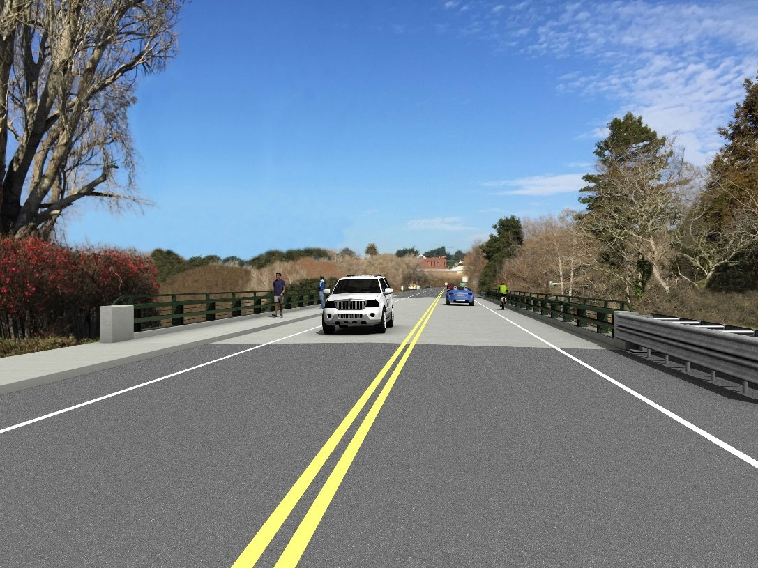 Projected result of Lagunitas Bridge project