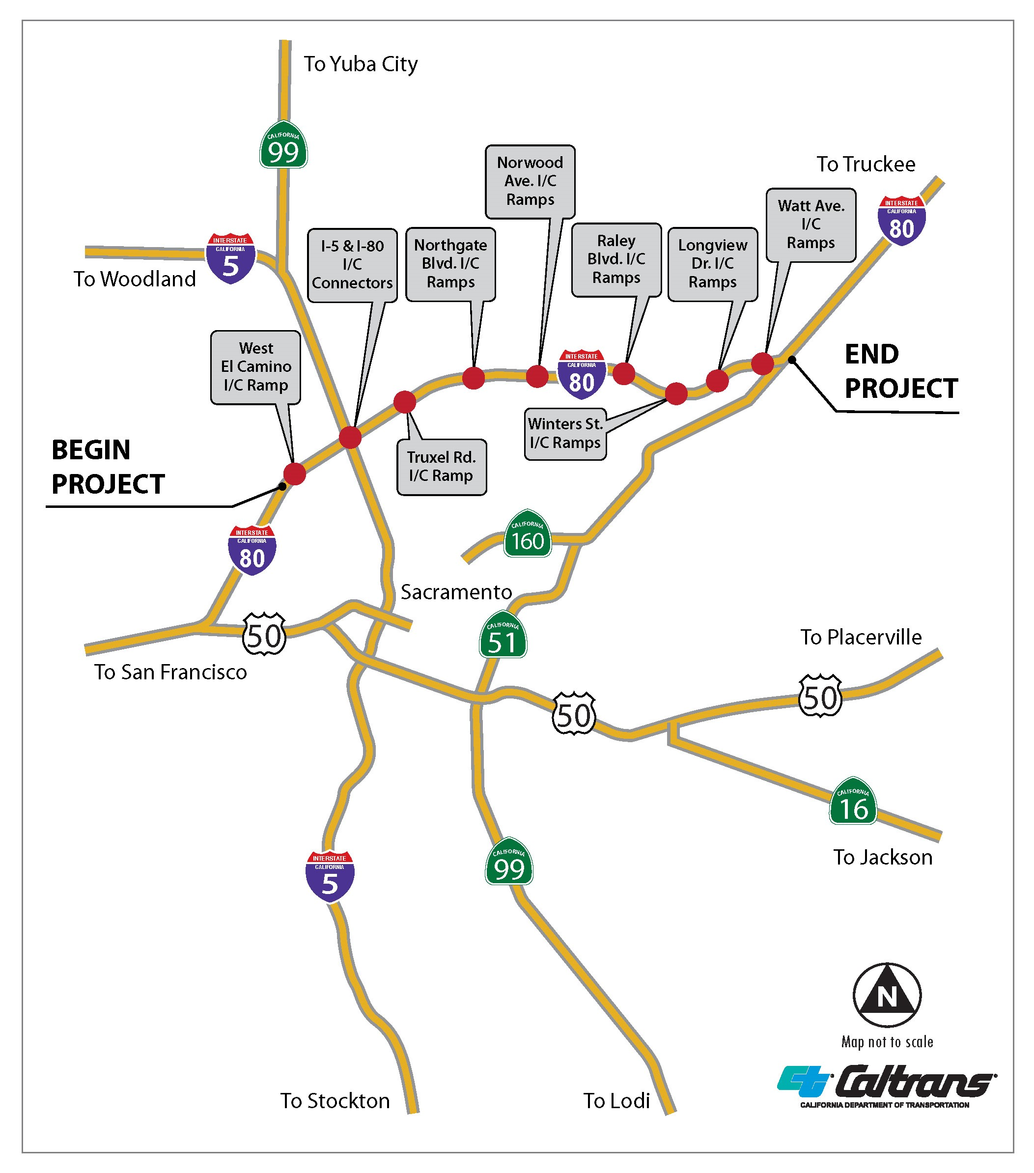 I-80 Ramps Scheduled for Extended Weekend Closure | Caltrans