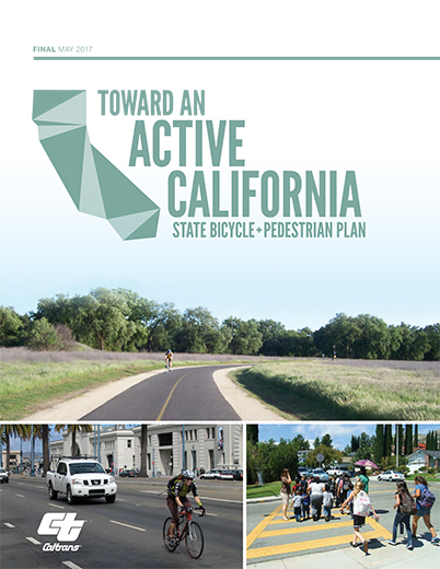 "Figure of the cover of ""Toward an Active California"" publication"