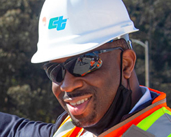 Portrait of Caltrans Director, Toks Omishakin