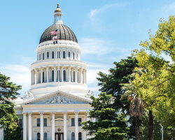 Photo thumbnail of the California State Capitol building.