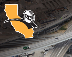 Photo thumbnail of the Road Charge logo overlaid against a freeway background.