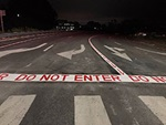 "pavement markings of arrows and ""Do Not Enter"" text on freeway ramps are visible only to wrong way drivers"