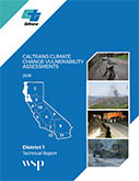 Caltrans Climate Change Vulnerability Assessment Technical Report - District 1,  2019