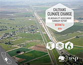 Caltrans Climate Change Vulnerability Assessment Summary Report - District 6,  2018